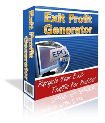 Product picture Exit Profit Generator - Unblockable Exit Popup!